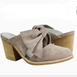 Free Shipping! Jeffery Campbell Cyrus Bow Mules